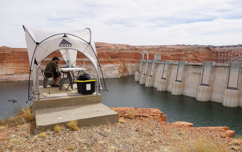 Remote Surveys at Glen Canyon Dam