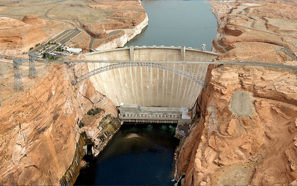 Glen Canyon Dam 3D Model